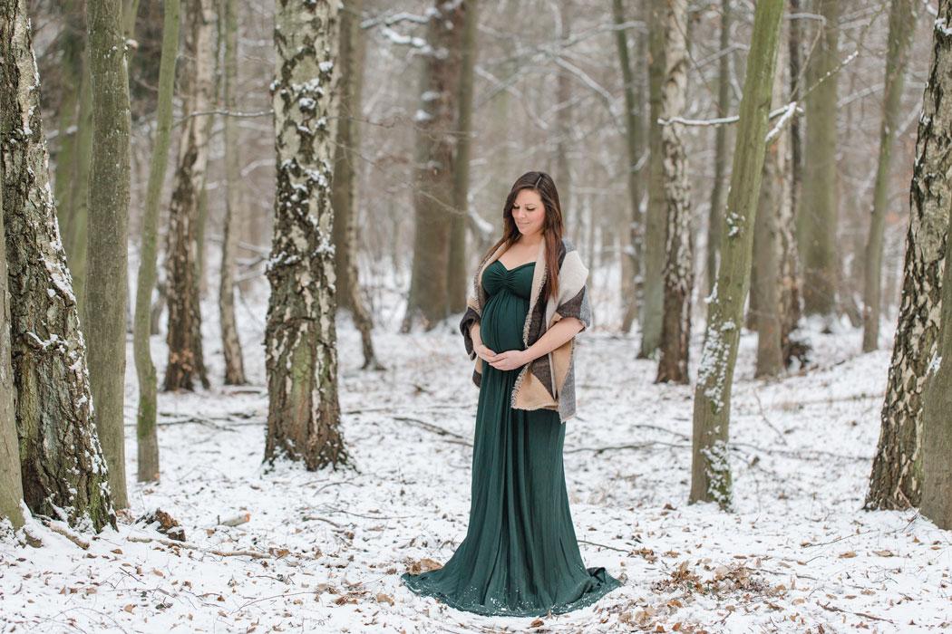 mareike wiesner photography babybauchshooting schnee kim 01 - Portfolio