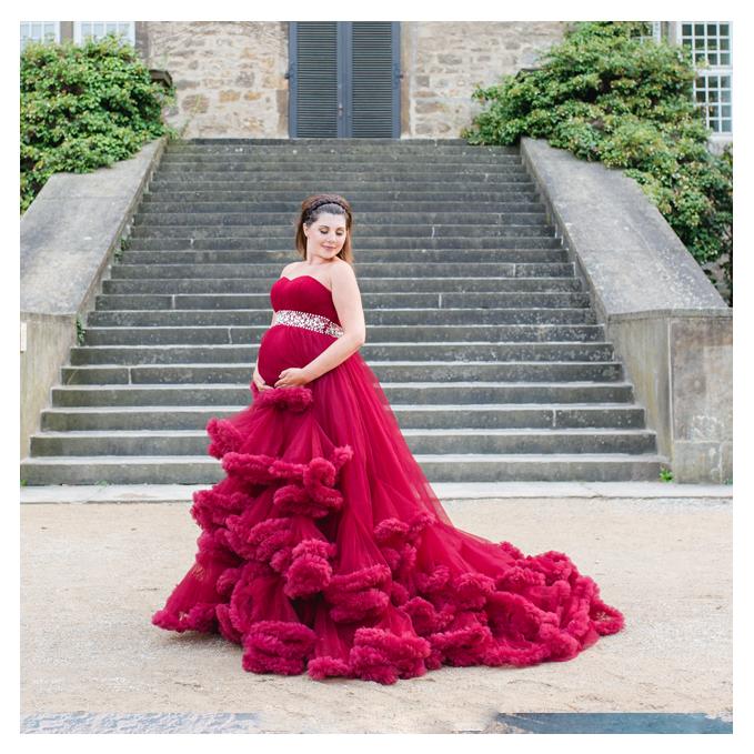 mareike wiesner photography babybauch Schwangerschaftskleid Wolkenkleid - Schwangerschaftskleider